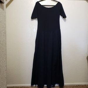 Soft Surroundings Valencia black dress